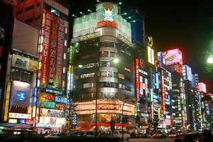 新宿繁華街